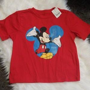 New! Disney Mickey Mouse T-Shirt